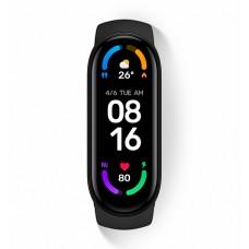 Браслет-фитнес Xiaomi Mi Smart Band 6 RU (черный)