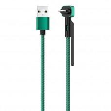 Кабель STAND, USB 2.0 - Lightning, 1.2м, 2,1А, OLMIO
