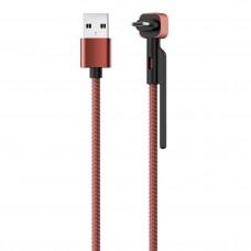 Кабель STAND, USB 2.0 - microUSB, 1.2м, 2,1А, OLMIO