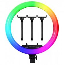 Лампа для селфи без штатива РАДУГА 45см
