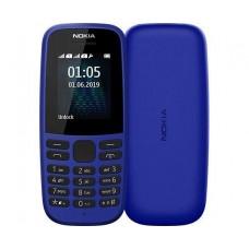 Сотовый телефон NOKIA 105 DS Blue (синий) TA-1174