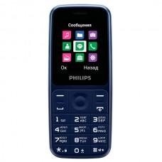 Сотовый телефон PHILIPS Xenium E125 Blue