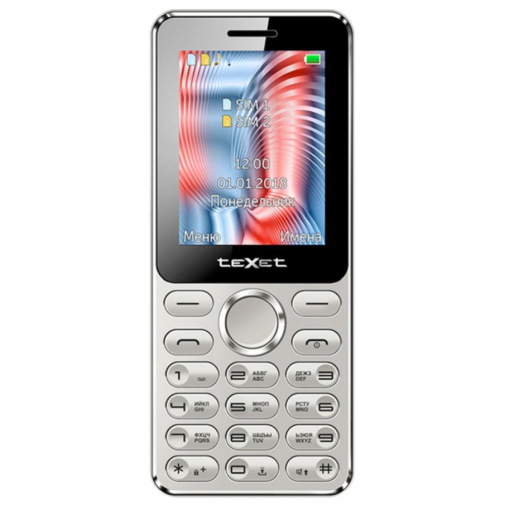 Сотовый телефон TEXET TM-212 Grey