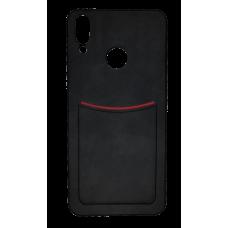 Клип-кейс ILEVEI HONOR 8C, с визитницей (черный)