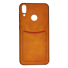 Клип-кейс ILEVEI HONOR 8C, с визитницей (коричневый)