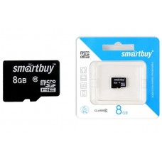 Карта памяти SmartBuy 8Gb MicroSDHC class 10 б/ад