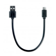 Кабель USB 2.0 - microUSB, 0.2м, 2.1A, OLMIO