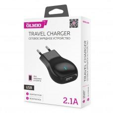 СЗУ OLMIO USB, 2.1А