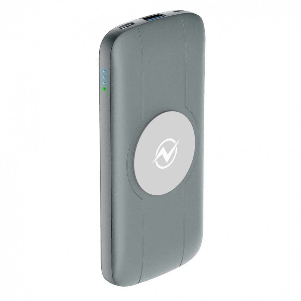 Power Bank OLMIO QW-10, 10000 mAh, QuickCharge3.0, Type-C PD, wireless charger