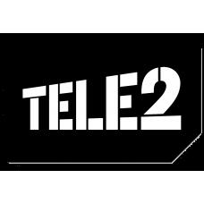 "Sim-карта Tele2 ""Прозрачные границы М"", баланс 0р."