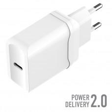 СЗУ OLMIO USB Type-C, 18W, 3A, PowerDelivery