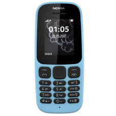 Сотовый телефон NOKIA 105 SS Blue TA-1203