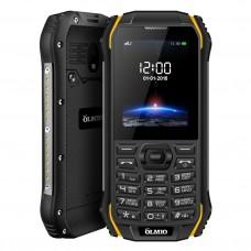 Сотовый телефон OLMIO X05 (черный-желтый) Защищенный