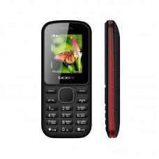 Сотовый телефон TEXET TM-130 Black Red